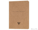 Clairefontaine Flying Spirit Notebook - A5, Lined - Tan