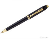 Cross Townsend Ballpoint - Polished Black Lacquer with Gold Trim