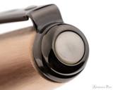 Sheaffer Prelude Brushed Copper-Tone Fountain Pen - Cap Jewel