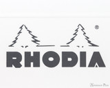 Rhodia Staplebound Notebook - A5, Lined - Ice White logo