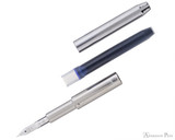 Pilot Vanishing Point Decimo Fountain Pen - Black - Nib Unit and Cartridge