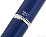 Pilot Vanishing Point Decimo Fountain Pen - Navy - Imprint