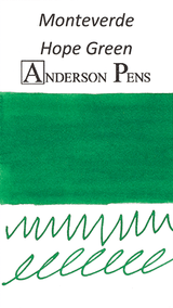 Monteverde Hope Green Ink Color Swab