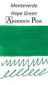 Monteverde Hope Green Ink Color Swab