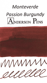 Monteverde Passion Burgundy Ink Color Swab