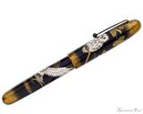 Namiki Emperor Maki-e Fountain Pen - Owl - Profile