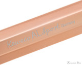 Kaweco AL Sport Fountain Pen - Rosegold - Imprint