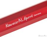 Kaweco AL Sport Fountain Pen - Red - Imprint