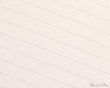 ProFolio Oasis Notebook - B5, Green - Page Closeup