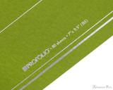 ProFolio Oasis Notebook - B5, Green - Logo