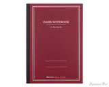 ProFolio Oasis Notebook - B5, Red