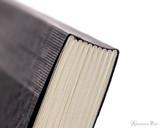 ProFolio Oasis Notebook - B5, Charcoal - Binding