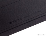 ProFolio Oasis Notebook - B5, Charcoal - Logo