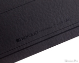 ProFolio Oasis Notebook - B5, Charcoal - Logo