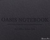 ProFolio Oasis Notebook - B5, Charcoal - Logo 2