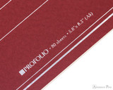 ProFolio Oasis Notebook - A5, Red - Logo