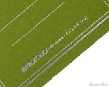 ProFolio Oasis Notebook - A6, Green - Logo