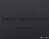 ProFolio Oasis Notebook - A6, Charcoal - Logo 2