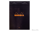 Rhodia No. 16 Staplebound Notepad - A5, Lined - Black
