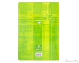 Clairefontaine Classic Staplebound Notebook - A4, Lined Paper - Assorted - Back