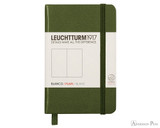 Leuchtturm1917 Notebook - A7, Blank - Army