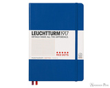 Leuchtturm1917 Notebook - A5, Red Dots - Royal Blue