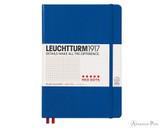 Leuchtturm1917 Notebook - A5, Red Dots - Royal Blue