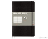 Leuchtturm1917 Composition Notebook - B6+, Lined - Black