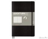 Leuchtturm1917 Composition Notebook - B6+, Lined - Black