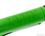 Lamy Safari Ballpoint - Green - Imprint