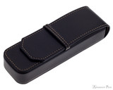 Franklin-Christoph 2 Pen Case - Black
