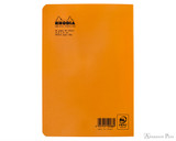 Rhodia Staplebound Notebook - A5, Lined - Orange back cover