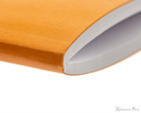 Rhodia Staplebound Notebook - A5, Lined - Orange inner binding detail