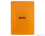 Rhodia Staplebound Notebook - A5, Lined - Orange