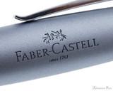 Faber-Castell Loom Rollerball - Metallic Light Blue - Imprint