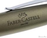 Faber-Castell Loom Rollerball - Metallic Olive Green - Imprint