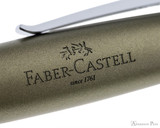 Faber-Castell Loom Rollerball - Metallic Olive Green - Imprint