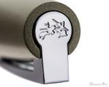 Faber-Castell Loom Ballpoint  - Metallic Olive Green - Cap Top