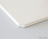 Midori MD Paper Pad A5 - Cotton, Blank - Corner