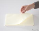 Midori MD Paper Pad A4 - Cream, Blank - Sheet