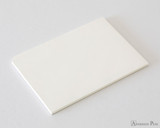 Midori MD Paper Pad A4 - Cotton, Blank - Open