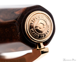 Visconti Medici Rose Gold with Fine Nib - Cap Jewel