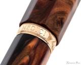Visconti Medici Rose Gold with Fine Nib - Barrel Band