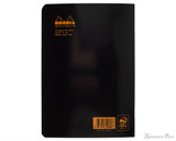 Rhodia  Staplebound Notebook - A5, Lined - Black back cover