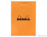 Rhodia No. 11 Staplebound Notepad - 3 x 4, Graph - Orange