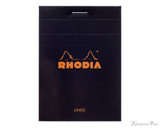 Rhodia No. 11 Staplebound Notepad - 3 x 4, Lined - Black