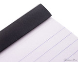 Rhodia No. 11 Staplebound Notepad - 3 x 4, Lined - Black detail