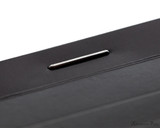 Rhodia No. 11 Staplebound Notepad - 3 x 4, Lined - Black binding detail