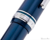 Sailor 1911 Large Fountain Pen - Stormy Sea with Rhodium Trim - Cap Band