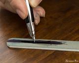 Tri-Grade Micro-Mesh Buffer Stick - In Use